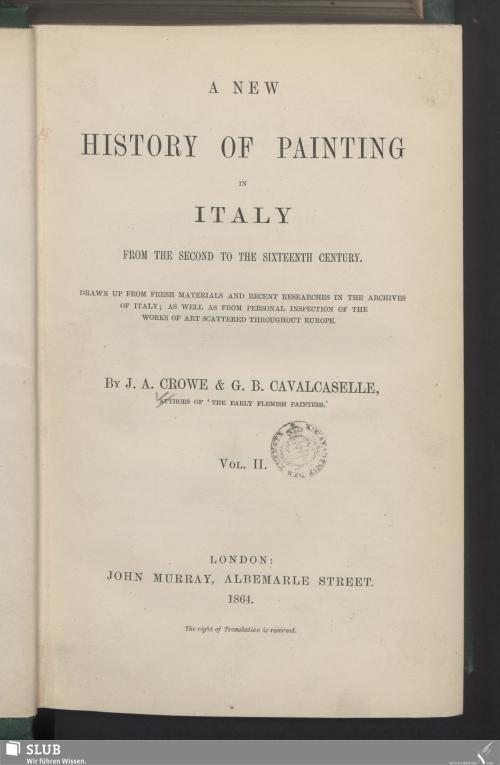 Vorschaubild von [A new history of painting in Italy]