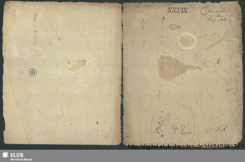 Vorschaubild von Cupio dissolvi et esse tecum - Mus.2-E-502