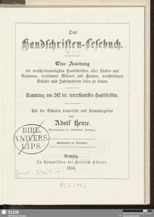 Vorschaubild von Das Handschriften-Lesebuch