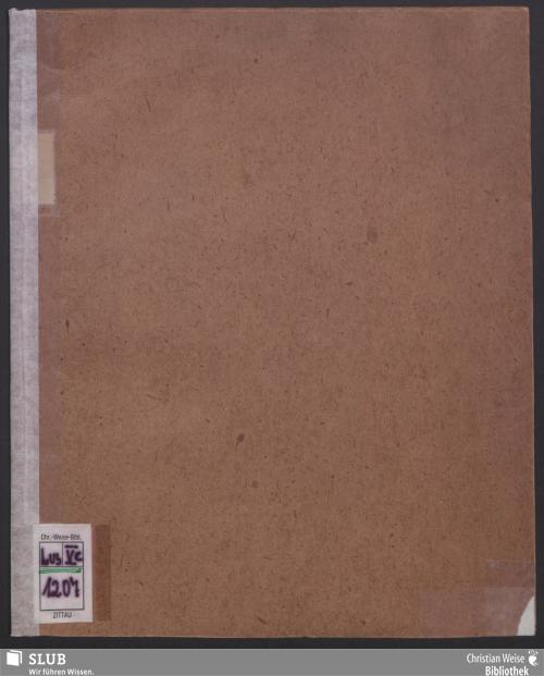 Vorschaubild von Decret wegen Bestätigung der abgeänderten Statuten der mit einer Leih- und Sparbank verbundenen landständischen Hypothekenbank für das Königlich Sächsische Markgrafthum Oberlausitz vom 17. April 1850