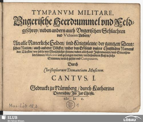 Vorschaubild von Tympanum militare