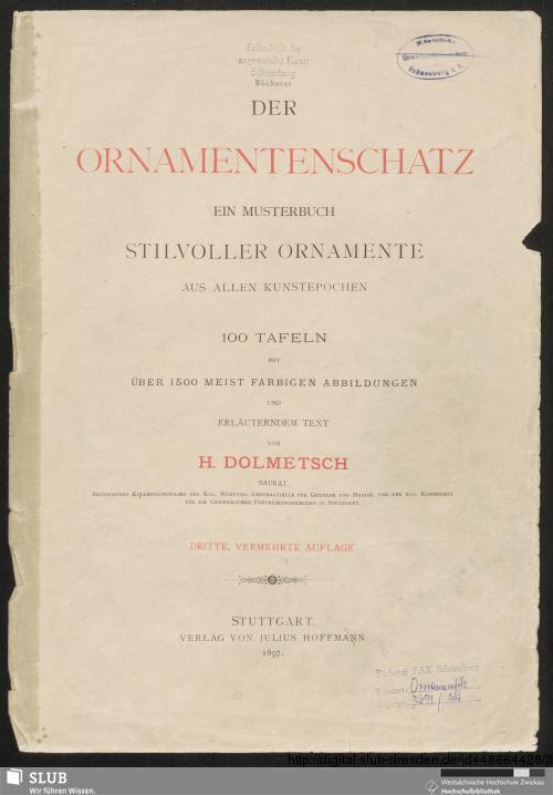 Vorschaubild von Der Ornamentenschatz