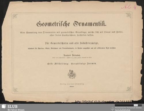 Vorschaubild von Geometrische Ornamentik