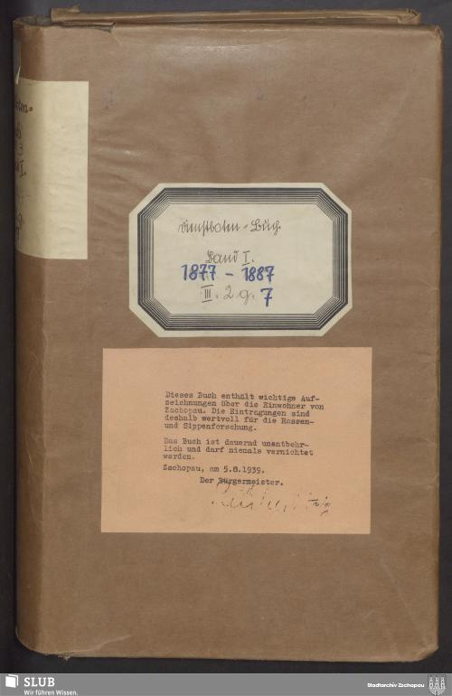 Vorschaubild von Dienstbotenbuch - 4203