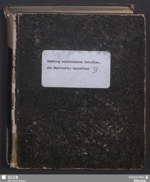 Vorschaubild von Dieses Blatt enthält die Ehren- und Freudensbezeugungen so die Gemeinde zu Waltersdorf bey Zittau ihren neuen Lehrer und Seelenhirten Sr. Hochwohl-Ehrwürden Herrn Carl Gottfried Grundmann, an den Tagen seines Einzugs und Installation zu erkennen gab