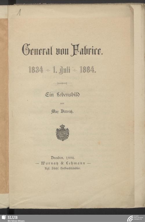 Vorschaubild von General von Fabrice
