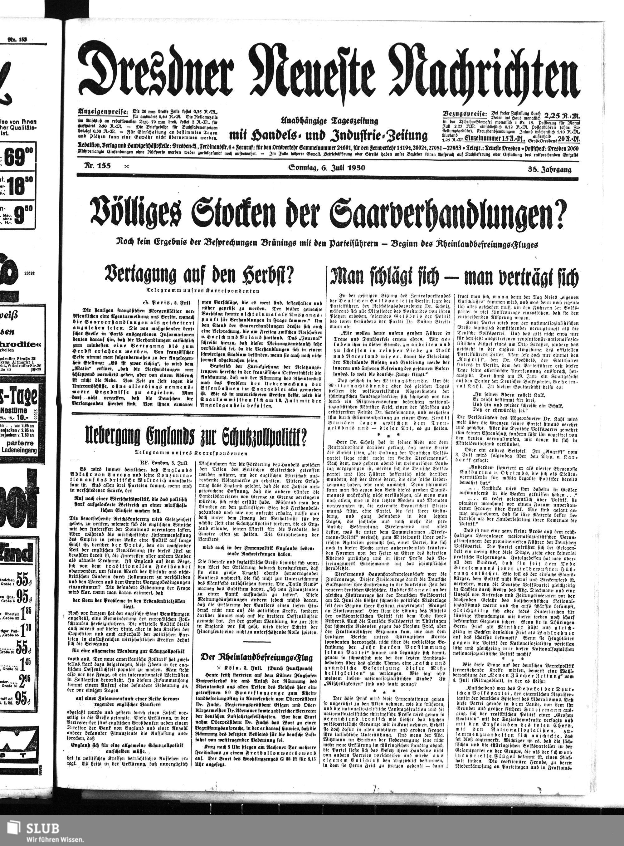 Nachrichten Dresden