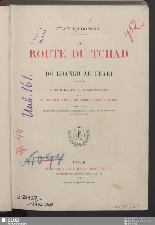 Vorschaubild von La route du Tchad