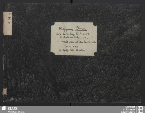 Vorschaubild von Aria Sr. kaiserl. Majestät Ferdinand III. 36 Mahl verändert, für das Clavier eingerichtet ...