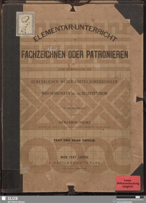 Vorschaubild von Elementar-Unterricht im Fachzeichnen oder Patronieren