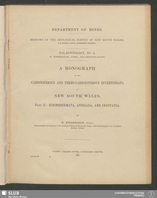 Vorschaubild von Echinodermata, Annelida, and Crustacea