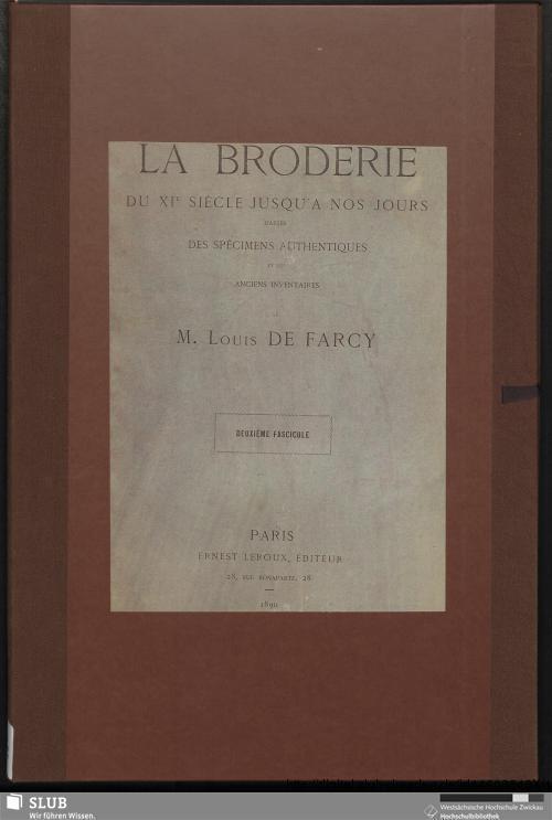 Vorschaubild von La broderie du XIe siècle jusqu'à nos jours d'après des spécimens authentiques et les anciens inventaires [Bl. 71 - 145]