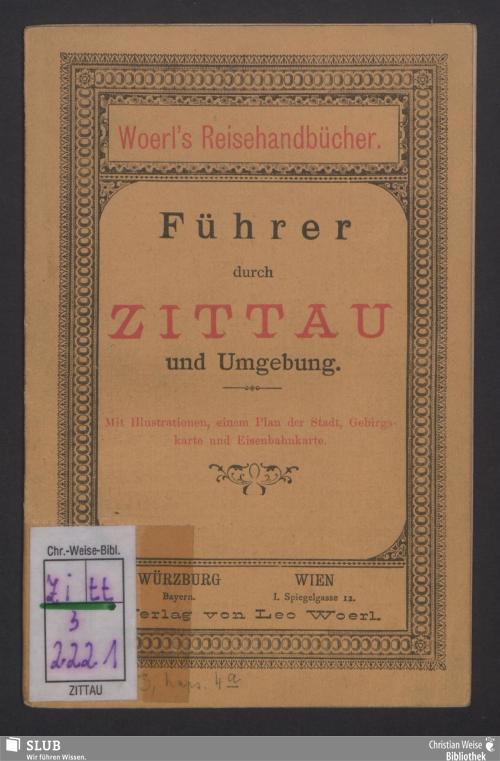 Vorschaubild von Führer durch Zittau und Umgebung