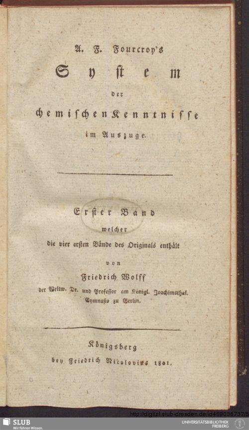 Vorschaubild von Welcher die vier ersten Bände des Originals enthält