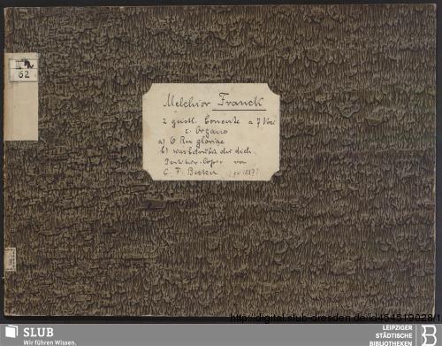 Vorschaubild von 2 Sacred songs - Becker III.2.62