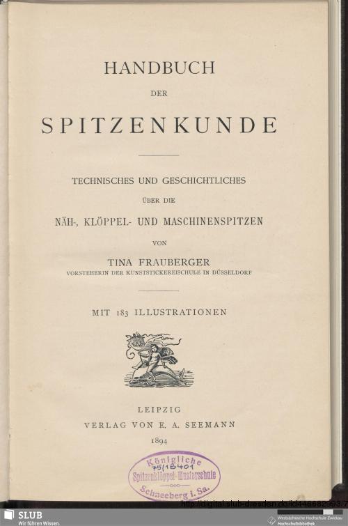 Vorschaubild von Handbuch der Spitzenkunde