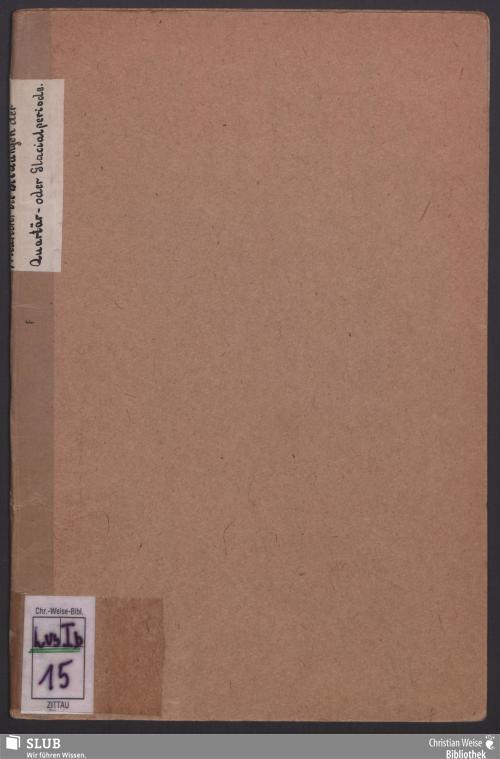 Vorschaubild von Die Bildungen der Quartär- oder Glacialperiode