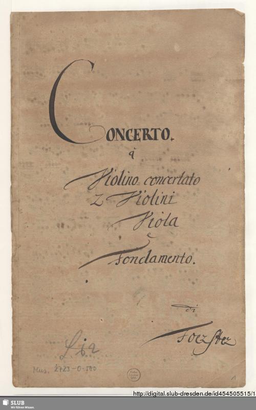 Vorschaubild von Concertos - Mus.2723-O-500