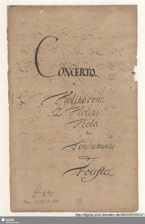Vorschaubild von Concertos - Mus.2723-O-501