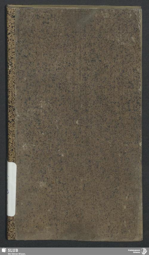 Vorschaubild von Wanderbuch für den Böttchergesellen Johann Gottlob Fuchs aus Wurzen - BId 117