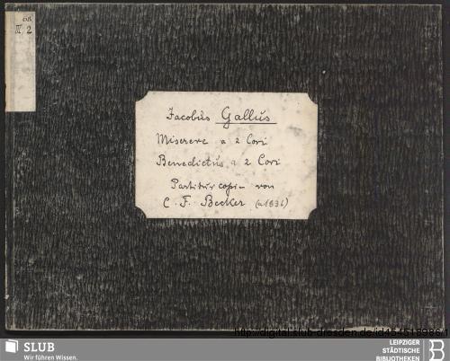 Vorschaubild von 2 Sacred songs - Becker III.2.68