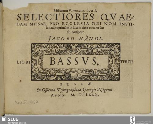 Vorschaubild von Missarum V. vocum, liber I