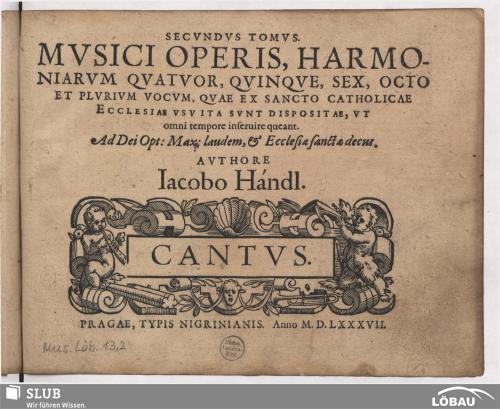 Vorschaubild von Secundus tomus musici operis, harmoniarum
