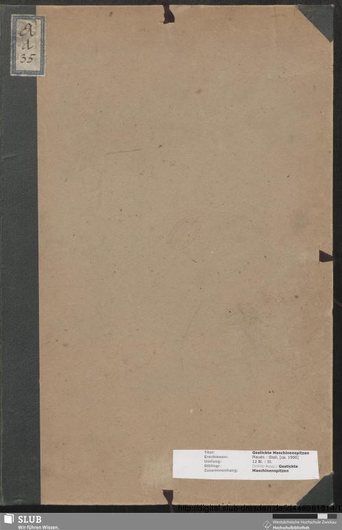 Vorschaubild von Gestickte Maschinenspitzen