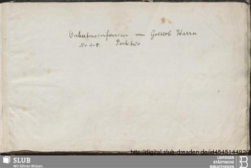 Vorschaubild von 8 Symphonies - Becker III.11.41