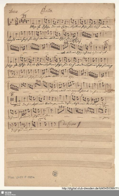 Vorschaubild von Alfonso. Excerpts - Mus.2477-F-505a