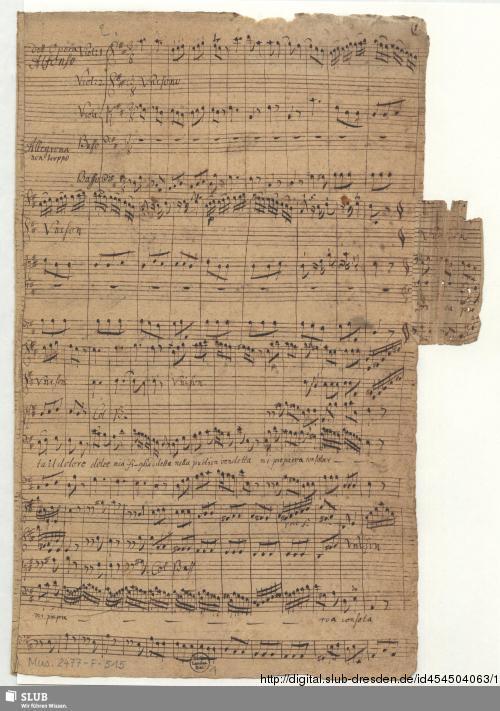 Vorschaubild von Alfonso. Excerpts - Mus.2477-F-515