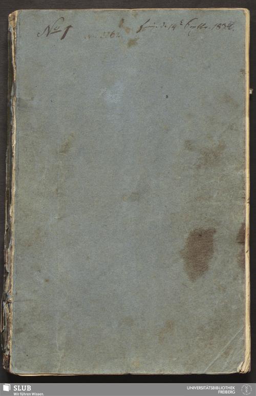Vorschaubild von Aufbereitungsbericht über Alte Mordgrube Fdgr. in der Freyberger Bergamts- und deren Hohenbirkner Revier auf dem oberen Brande - 18.6914 4.
