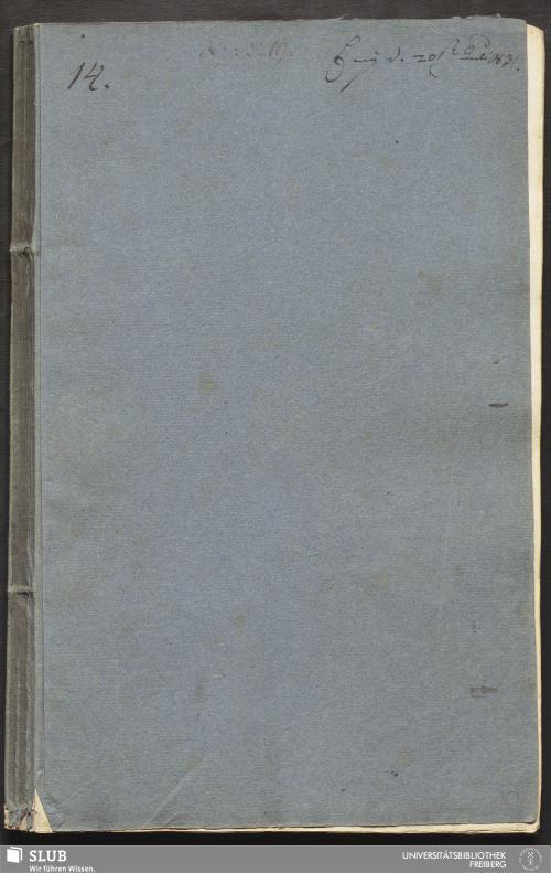 Vorschaubild von Arbeit ueber Grubenzimmerung und Grubenmauerung, mit besonderer Hinsicht auf vorkommende Fälle bey den Königlichen Stöllen Freyberger Revier - 18.6871 4.