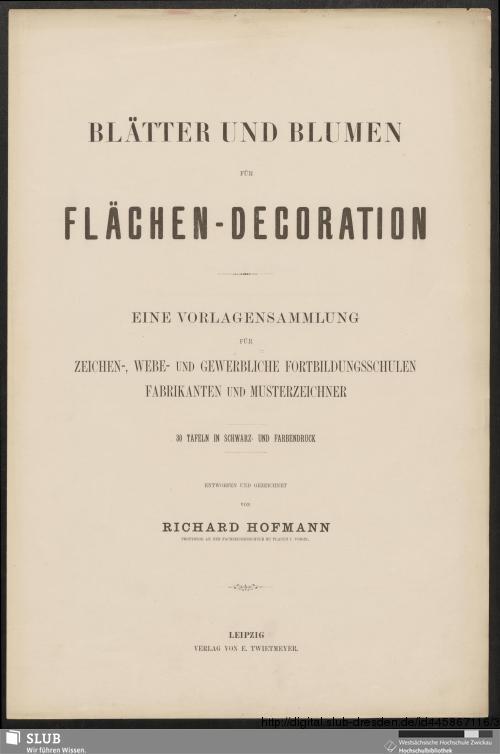 Vorschaubild von Blätter und Blumen für Flächen-Decoration