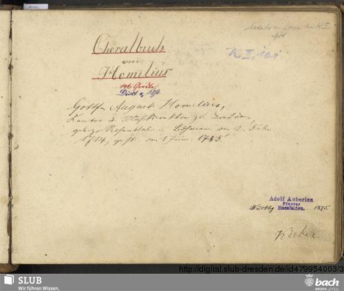 Vorschaubild von 145 Chorales - Go. S. 500