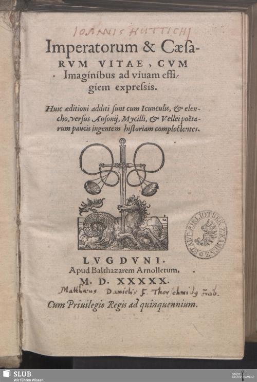 Vorschaubild von Imperatorum & Caesarvm Vitae