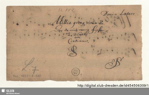 Vorschaubild von 2 Motets - Mus.1891-E-510