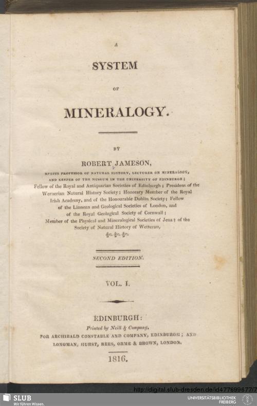 Vorschaubild von [A system of mineralogy]