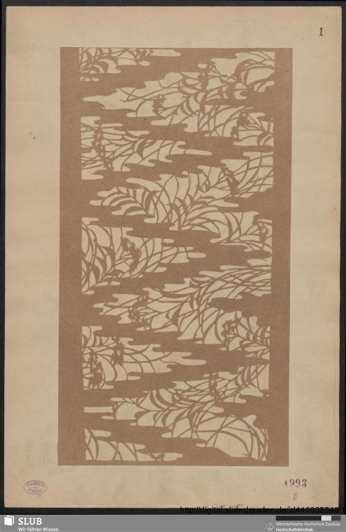 Vorschaubild von Japanische Färbeschablonen