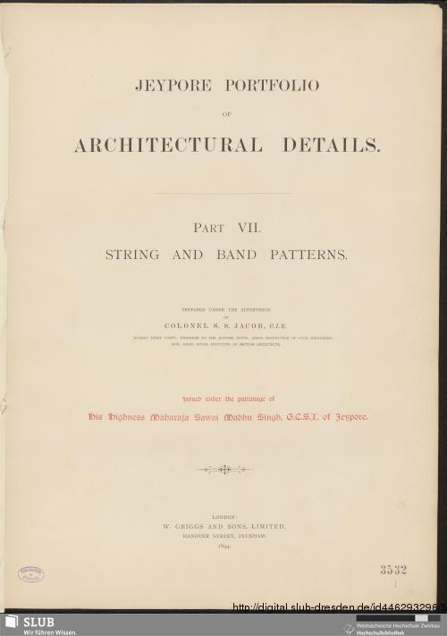 Vorschaubild von String and Band Patterns