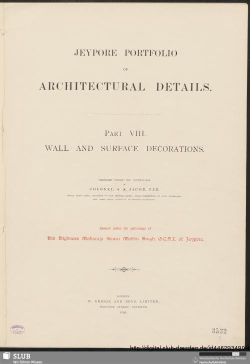 Vorschaubild von Wall and surface decorations