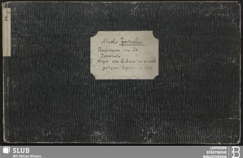 Vorschaubild von 2 Sacred songs - Becker III.2.101