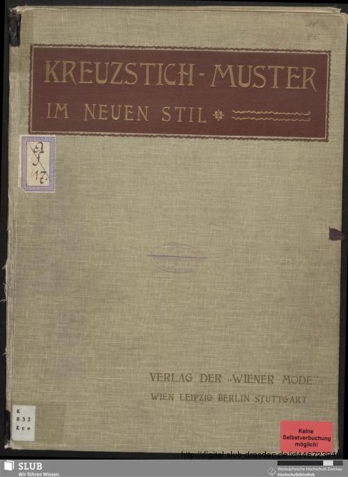 Vorschaubild von Kreuzstich-Muster im neuen Stil