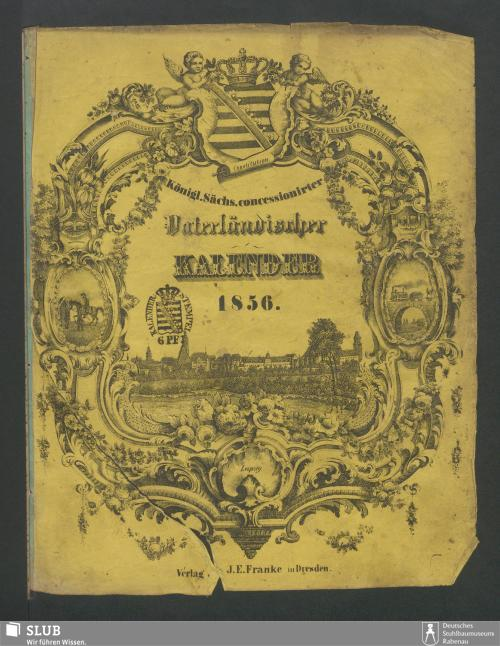 Vorschaubild von [Königl.-Sächs. concessionirter Vaterländischer Kalender]