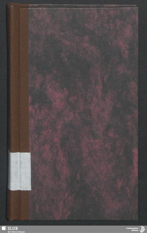 Vorschaubild von Wanderbuch für den Seilergesellen Johann Friedrich Wilhelm Koch aus Naunhof - BId 101