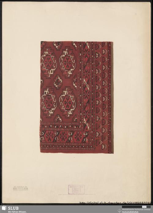Vorschaubild von Kovrovyja izdelija sredn. azii