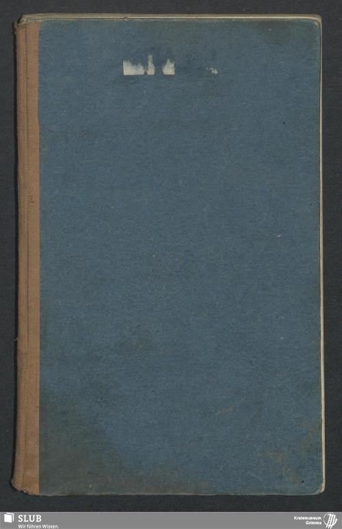Vorschaubild von Arbeitsbuch für Friedrich August Kreyß aus Naundorf - 1925