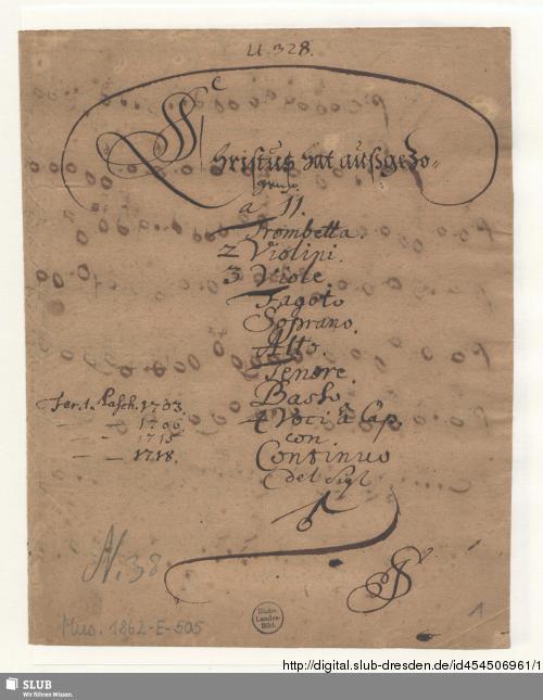 Vorschaubild von Christus hat ausgezogen die Fürstentum und die Gewaltigen - Mus.1862-E-505