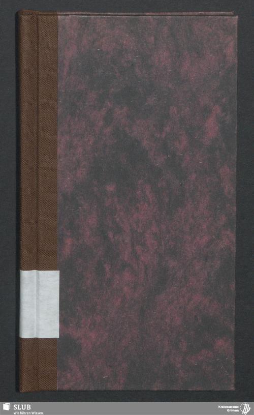 Vorschaubild von Wanderbuch für den Seilergeselle Traugott Kötitz aus Gastewitz - BId 104