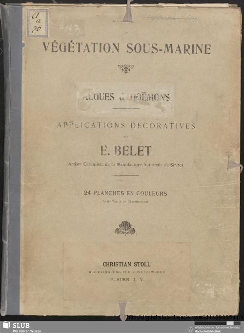 Vorschaubild von La Végétation Sous-Marine